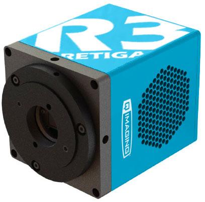 Для уменьшения шума темнового тока в камерах QImaging Retiga применено охлаждение датчика