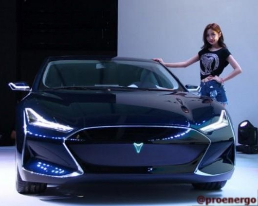 Китайская компания «Youxia» практически полностью скопировала электромобиль «Tesla» - 2