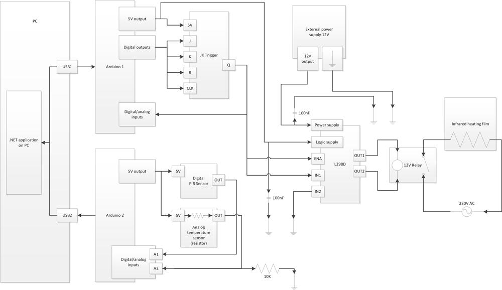 «Почти умный» тёплый пол на Arduino - 8