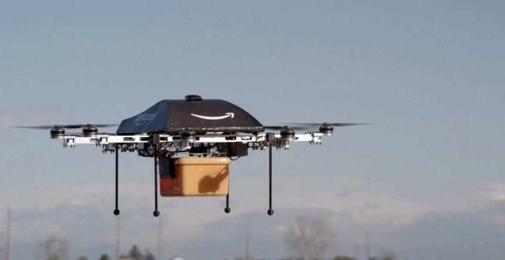 Amazon предлагает выделить для дронов собственные воздушные коридоры