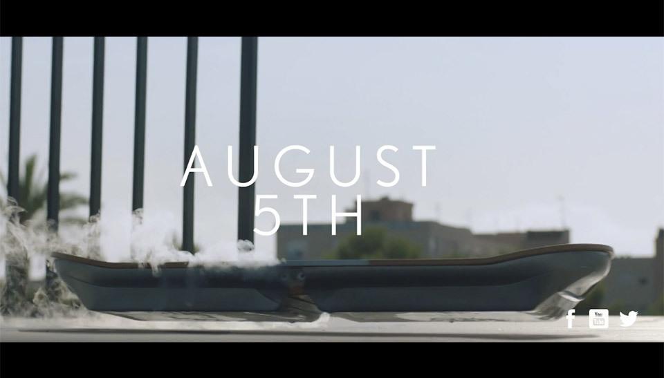 Lexus официально представит свой ховерборд 5 августа - 1