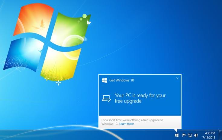 За первые сутки было установлено более 14 млн копий Windows 10