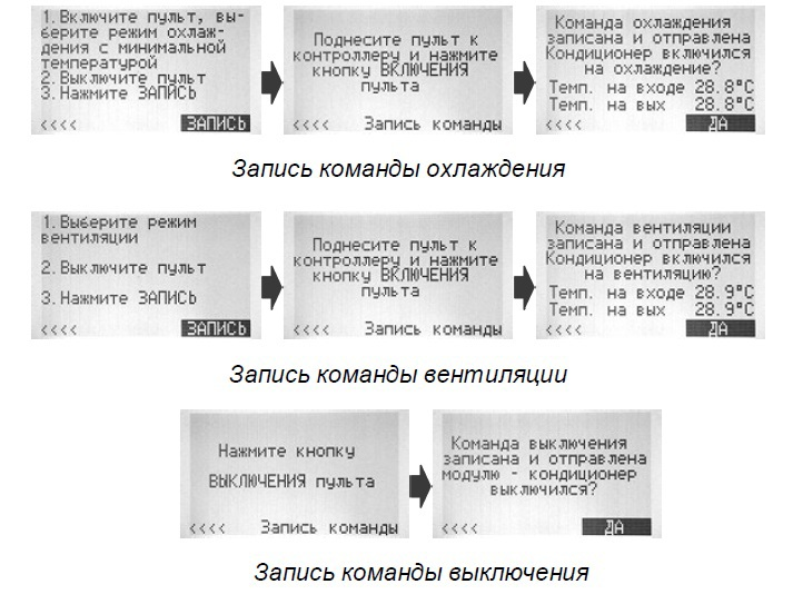 Автоматическая беспроводная система управления кондиционерами, или блок ротации на STM32 + TI CC2530 - 8