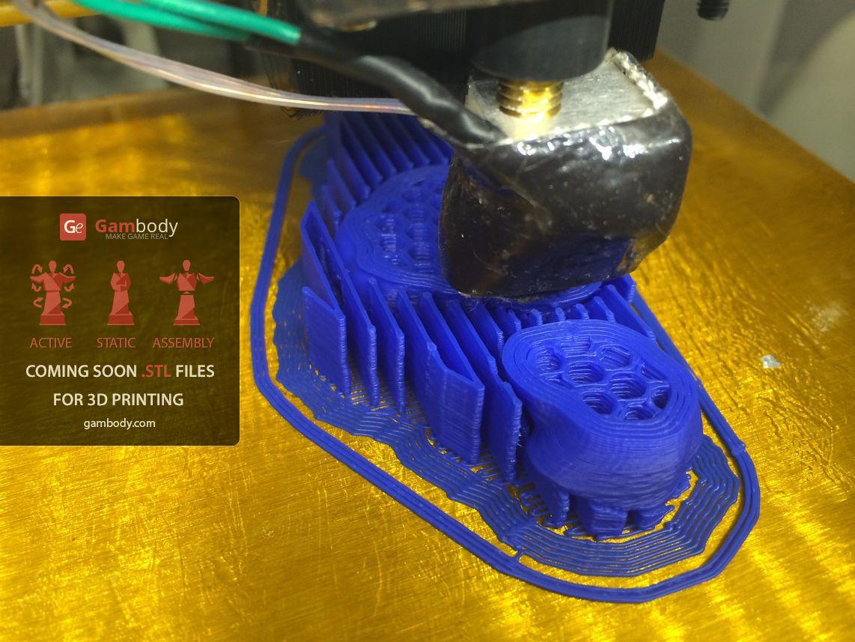3D принтер VS Axe (Dota2) Ч.1 - 11