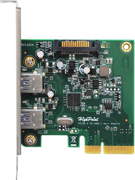 HighPoint реализовала поддержку USB 3.1 в док-станциях RocketStor 3112C и 3122B и карте RocketU 1322A - 4