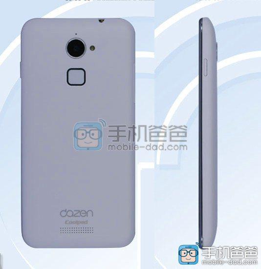 Новый смартфон Coolpad Dazen 8298-M02 получит дактилоскоп