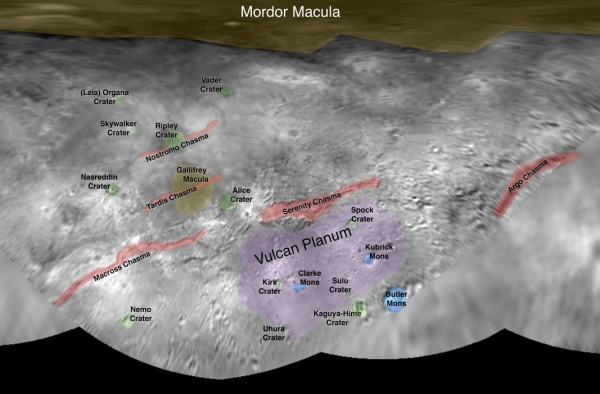 NASA выложило первые карты Плутона и Харона - 3