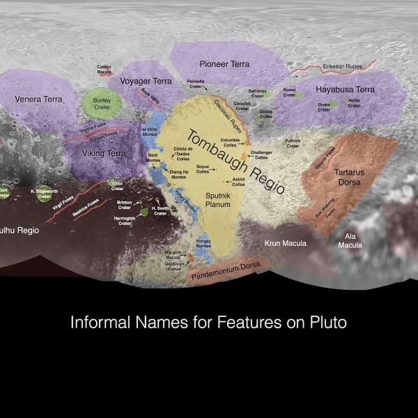 NASA выложило первые карты Плутона и Харона - 1