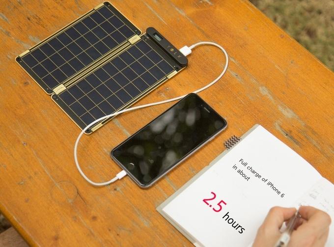 Solar Paper: универсальная «солнечная» зарядная станция - 1