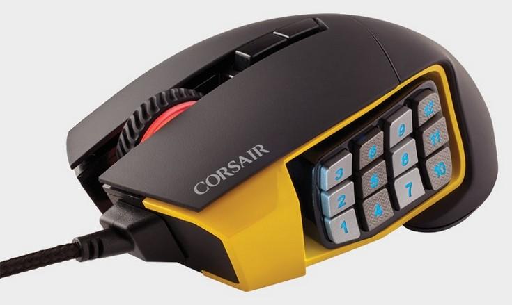 Corsair представила множество новых периферийных игровых устройств