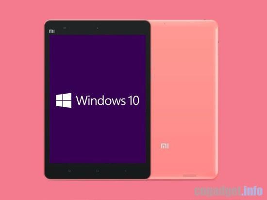 Планшет Xiaomi MiPad 2 будет основан на платформе Intel Cherry Trail, получит ОС Android 5.1 и Windows 10 - 1