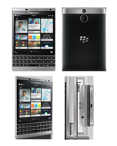 Представлен смартфон BlackBerry Passport Silver Edition