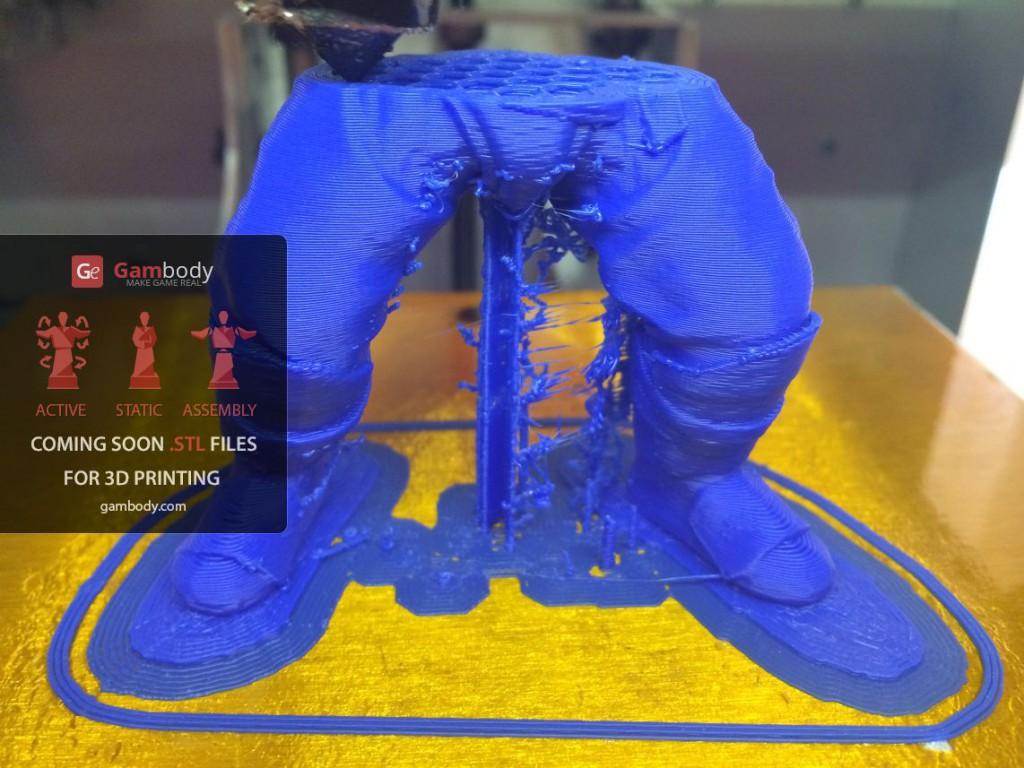 3D принтер VS Axe (Dota2) Ч.2 - 18