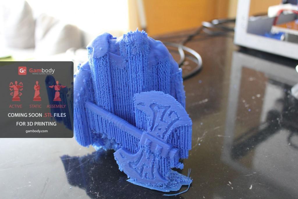 3D принтер VS Axe (Dota2) Ч.2 - 27