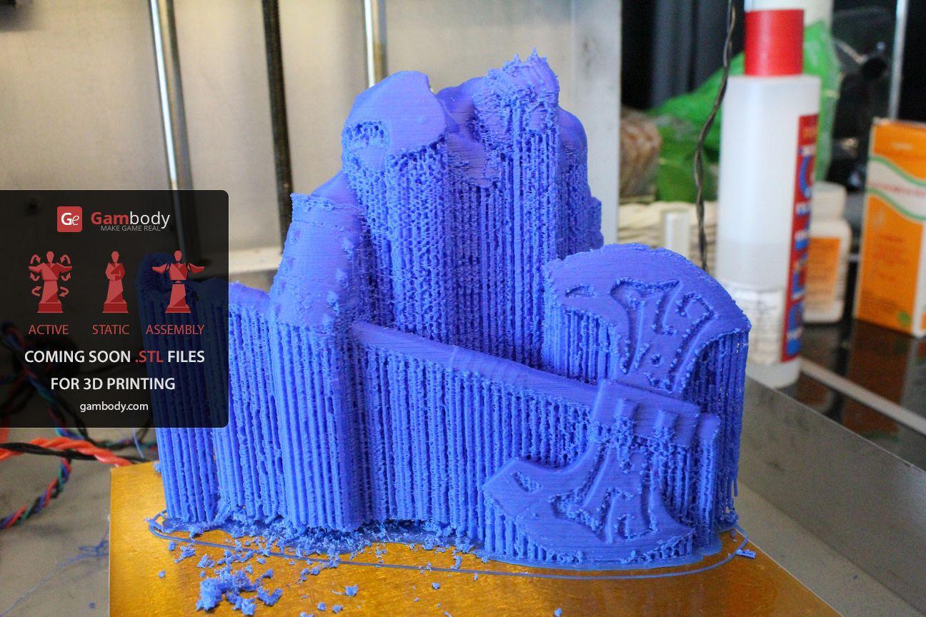 3D принтер VS Axe (Dota2) Ч.2 - 28