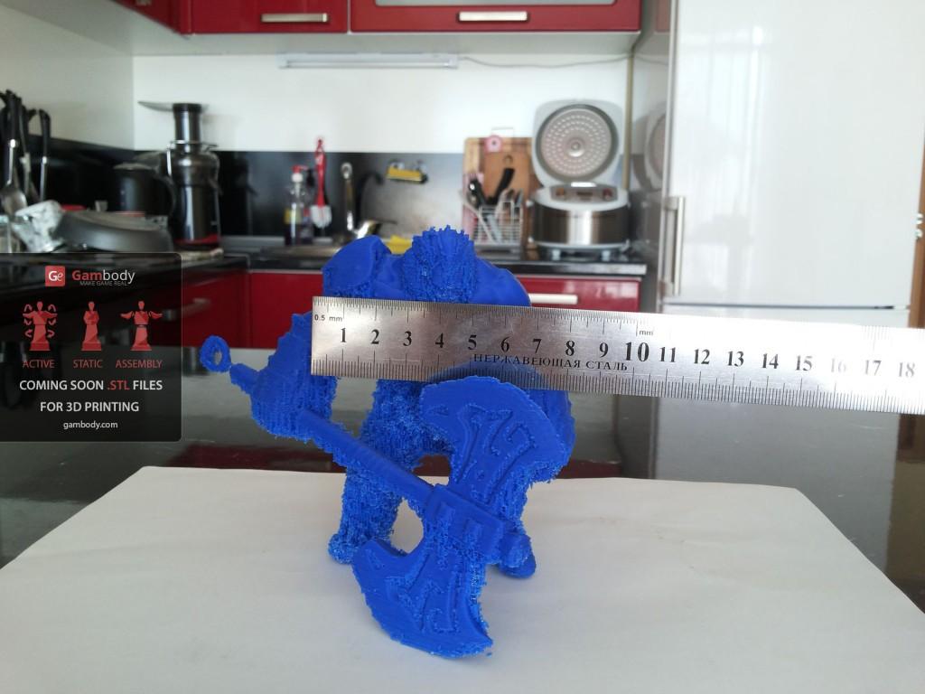 3D принтер VS Axe (Dota2) Ч.2 - 35