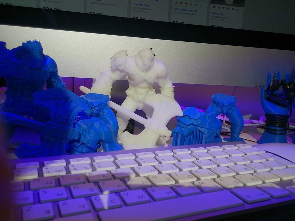 3D принтер VS Axe (Dota2) Ч.2 - 42