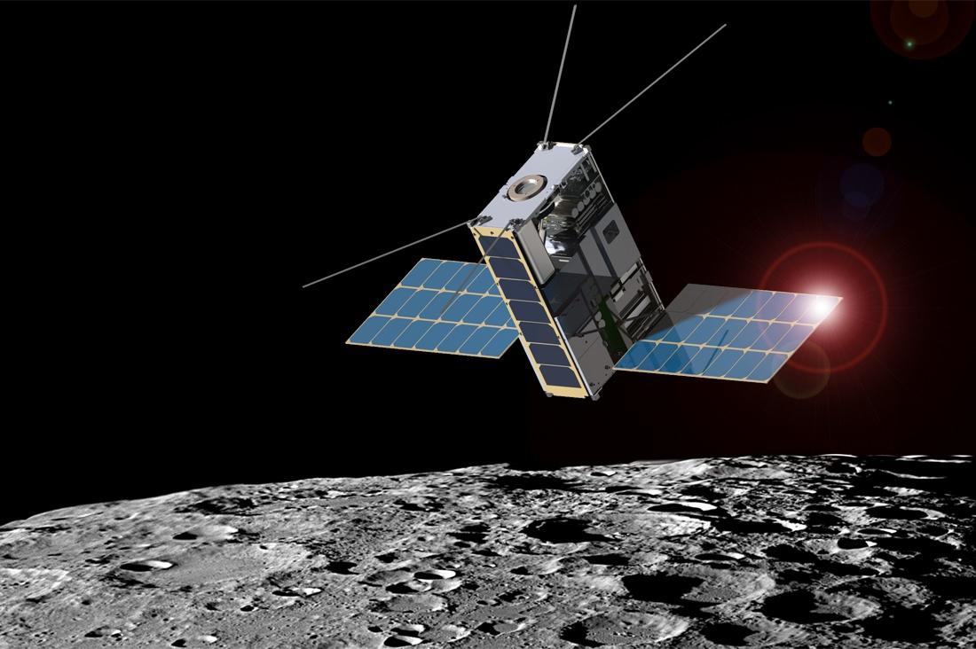 NASA готовит рой микроспутников к Луне - 1