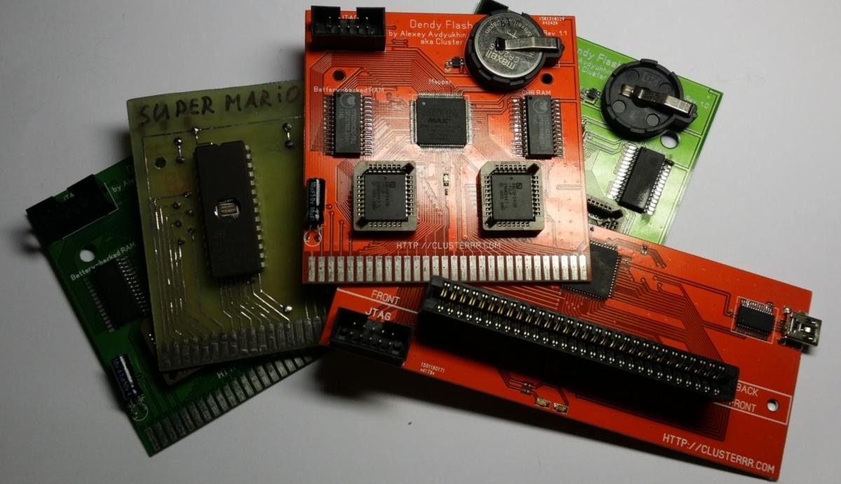 Самодельные картриджи для Dendy-Famicom - 1