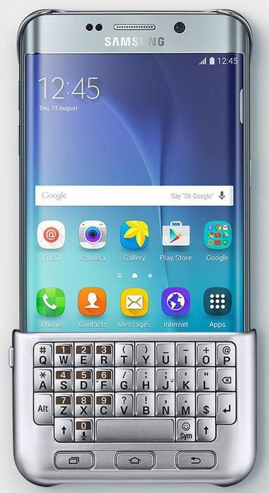 Смартфон Samsung Galaxy S6 Edge Plus получит чехол с клавиатурой