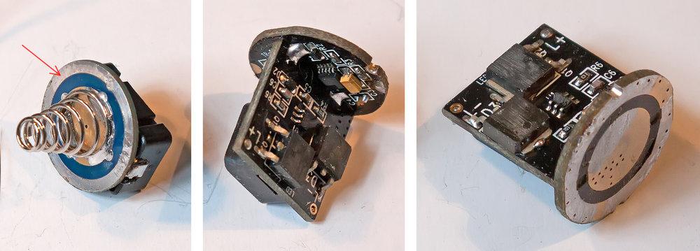 Ремонт китайского фонарика TrustFire XM-L Z5 - 2