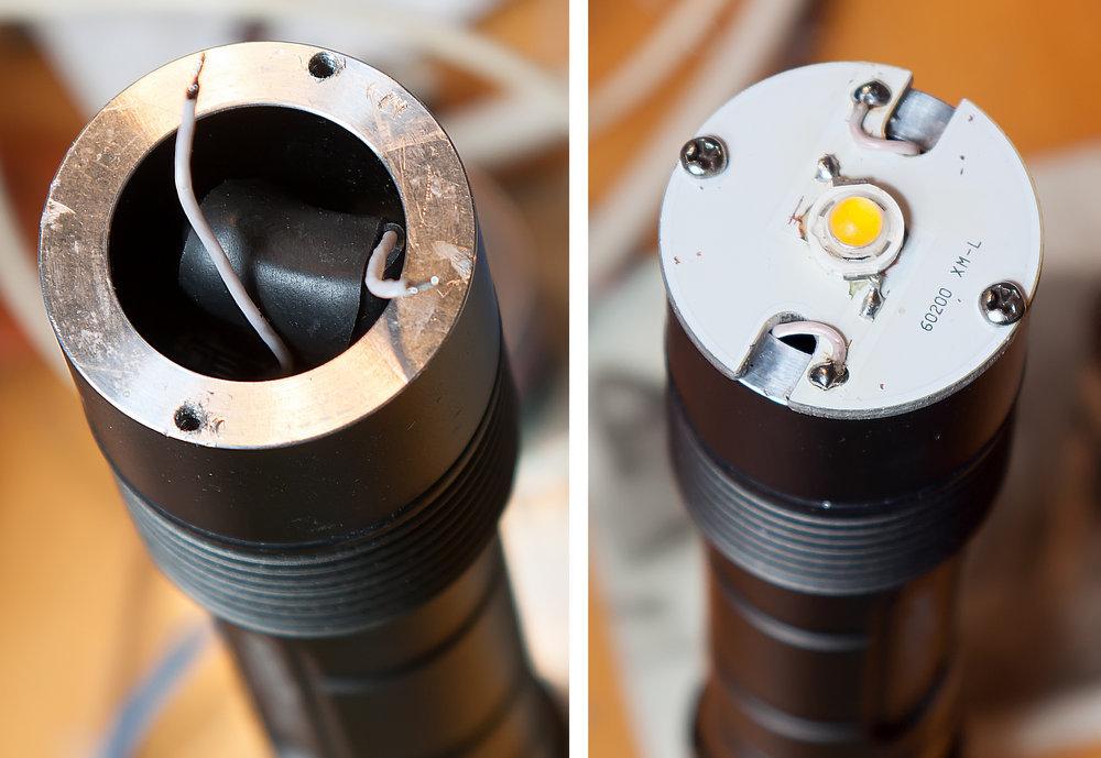 Ремонт китайского фонарика TrustFire XM-L Z5 - 5