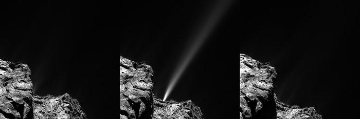 Комета Чурюмова-Герасименко отметила проход перигелия салютом - 1