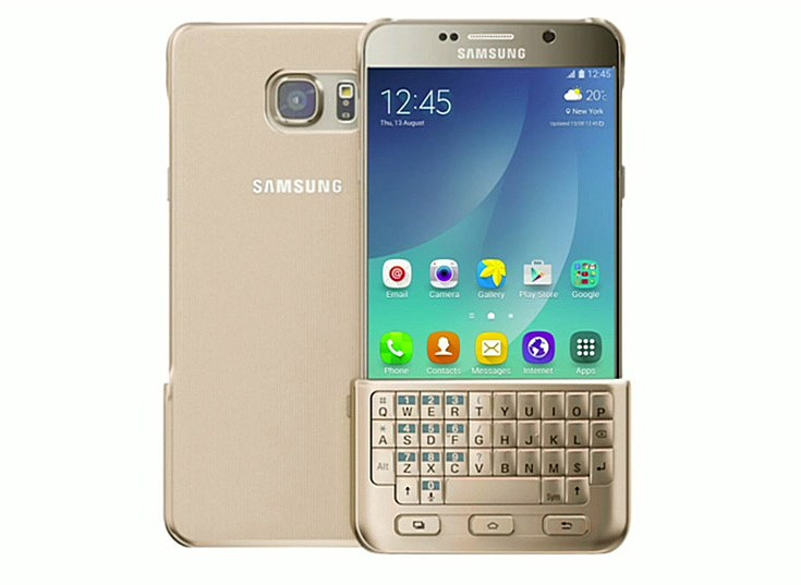 Чехол-клавиатура Samsung Keyboard Cover будет доступен и для моделей Galaxy S6 и S6 Edge