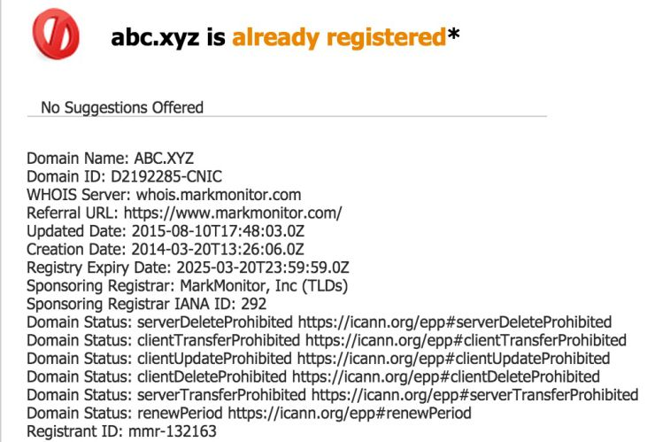 Google будет платить за домен для Alphabet всего $8 в год - 2