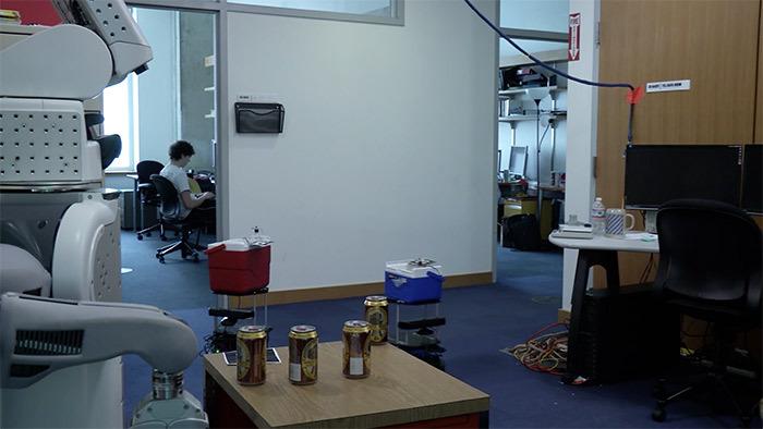 Роботы в MIT научились сообща разносить пиво в условиях неопределённости - 1