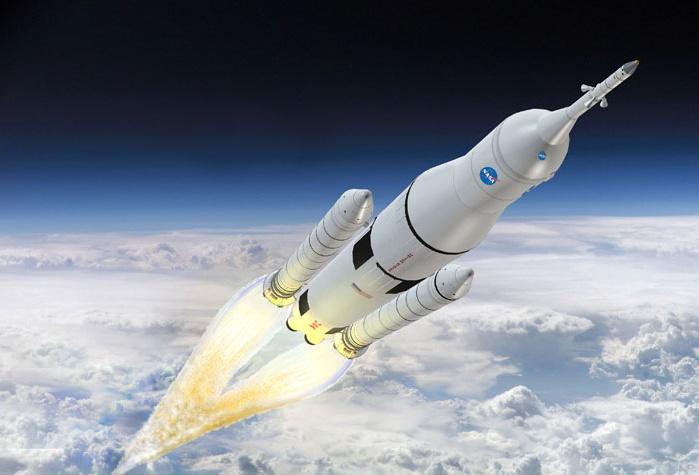 Двигатель сверхтяжелой ракеты-носителя SLS успешно прошел испытания - 1