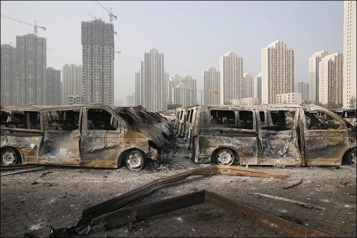 Власти Китая заблокировали 50 сайтов и 360 аккаунтов в соцсетях из-за слухов о последствиях взрыва в Тяньцзине - 2