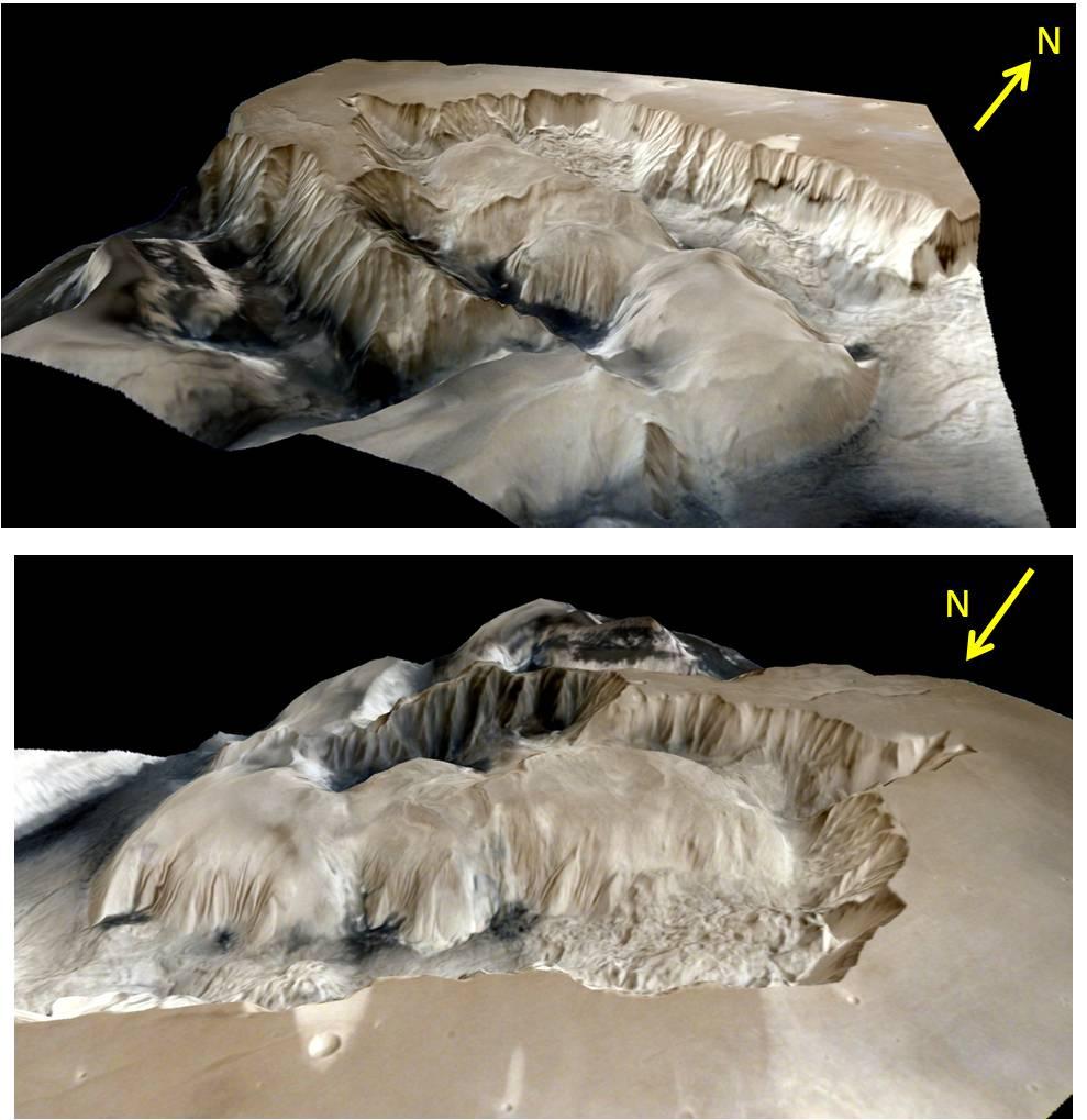 Mangalyaan прислал детальные изображения поверхности Марса - 3