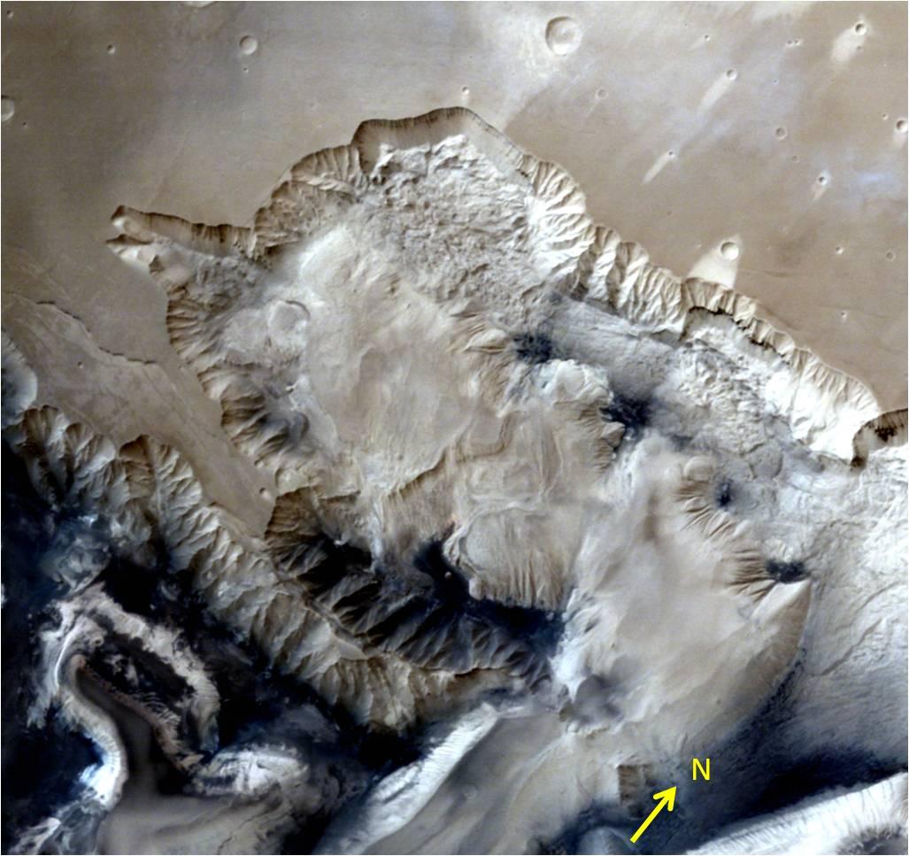 Mangalyaan прислал детальные изображения поверхности Марса - 1