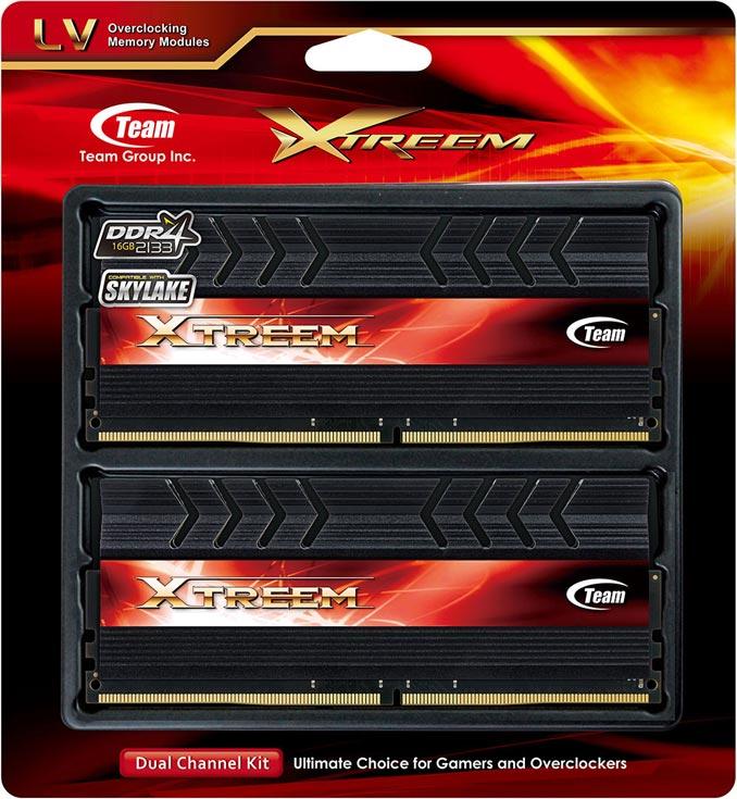 Модули памяти Team Group Xtreem DDR4-3466 и DDR4-3600 рассчитаны на напряжение питания 1,35 В