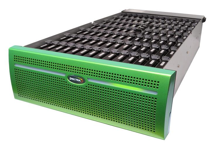 Удельная стоимость хранения данных в NAS Spectra Logic Spectra Verde DPE составляет 9 центов за 1 ГБ