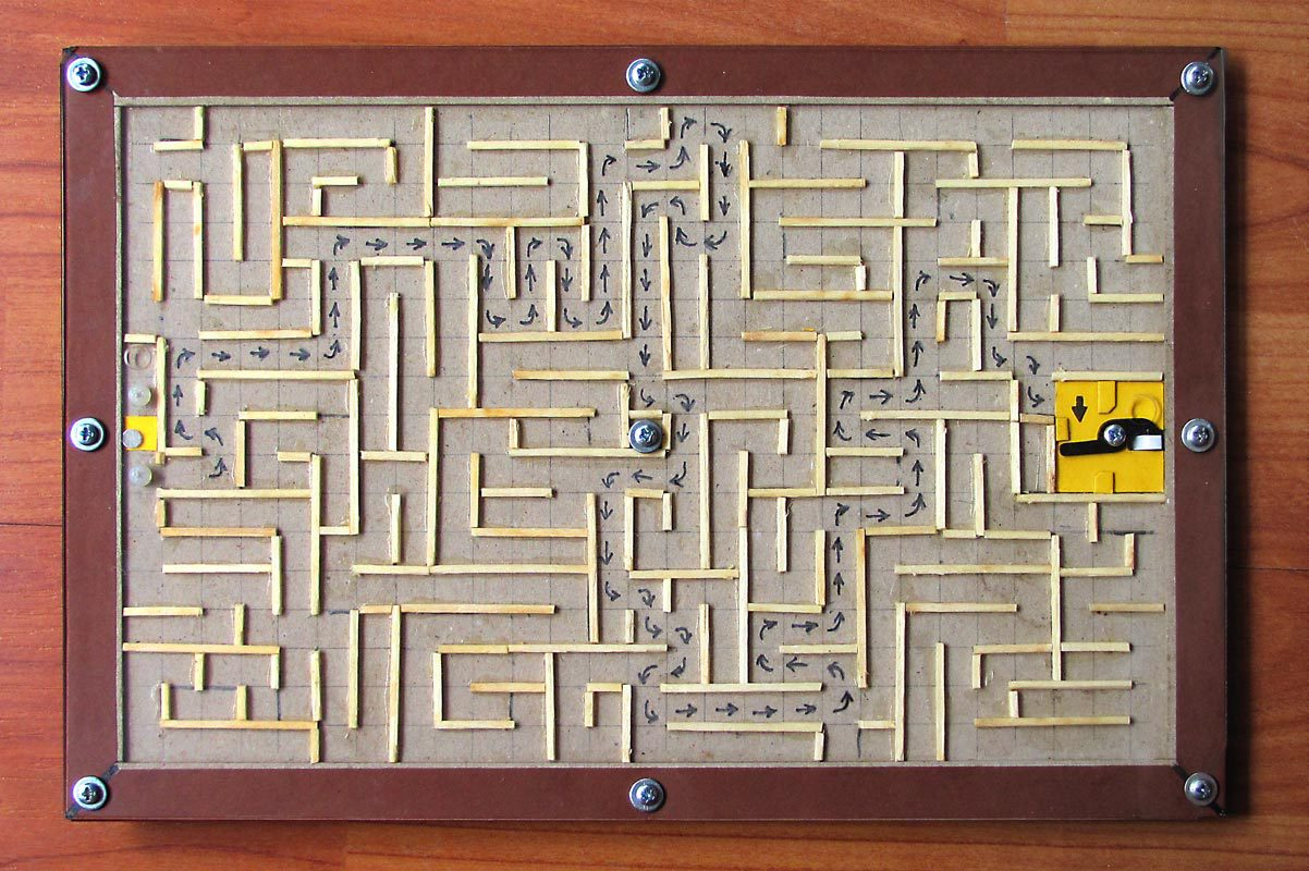 Открытка-лабиринт. Подарок, который невозможно открыть, не разгадав головоломку - 2