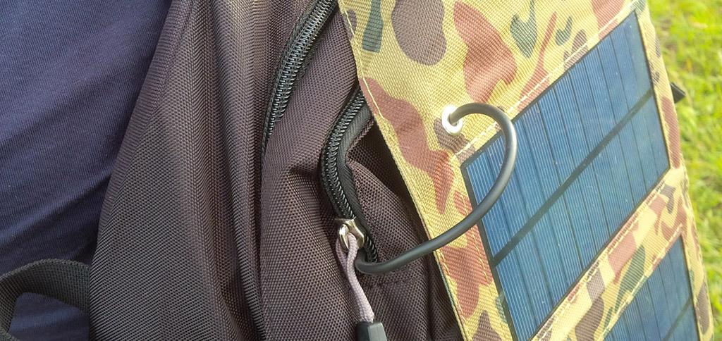 Полезное дополнение походного рюкзака – солнечная батарея - 2