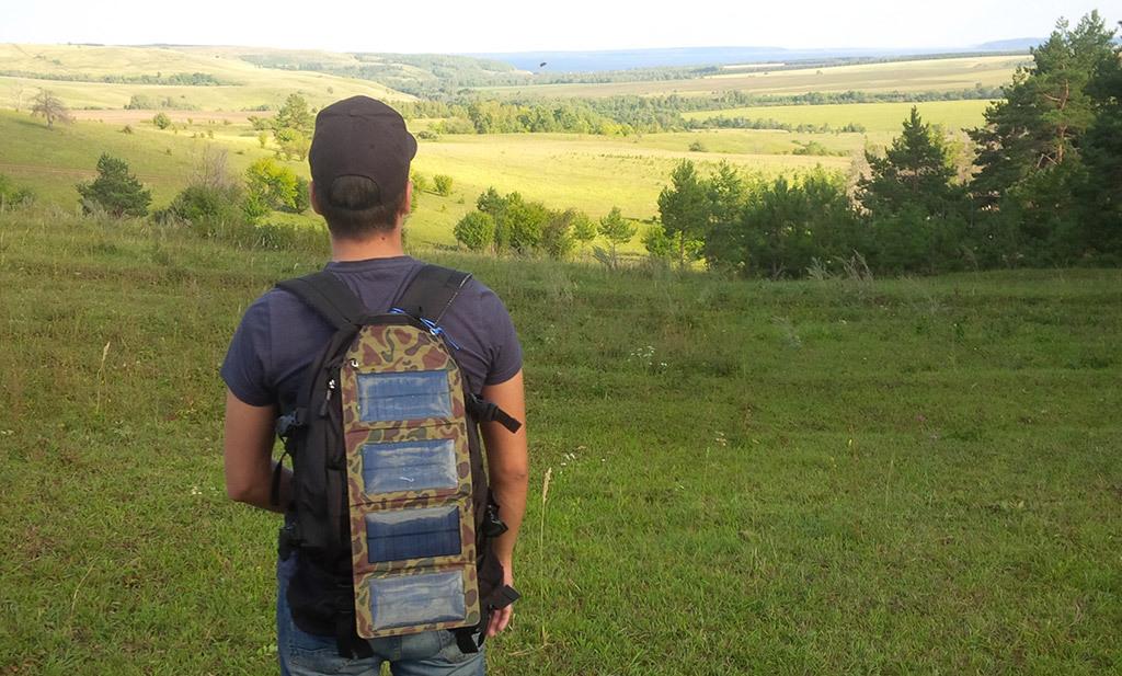 Полезное дополнение походного рюкзака – солнечная батарея - 1