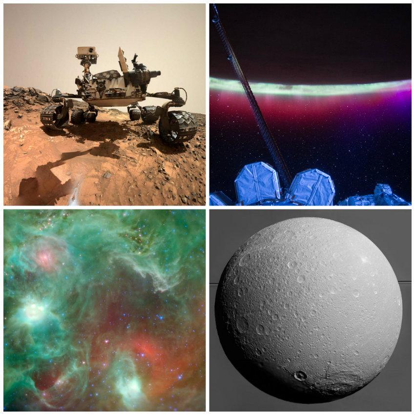 Впечатляющие фотографии космоса за неделю - 1