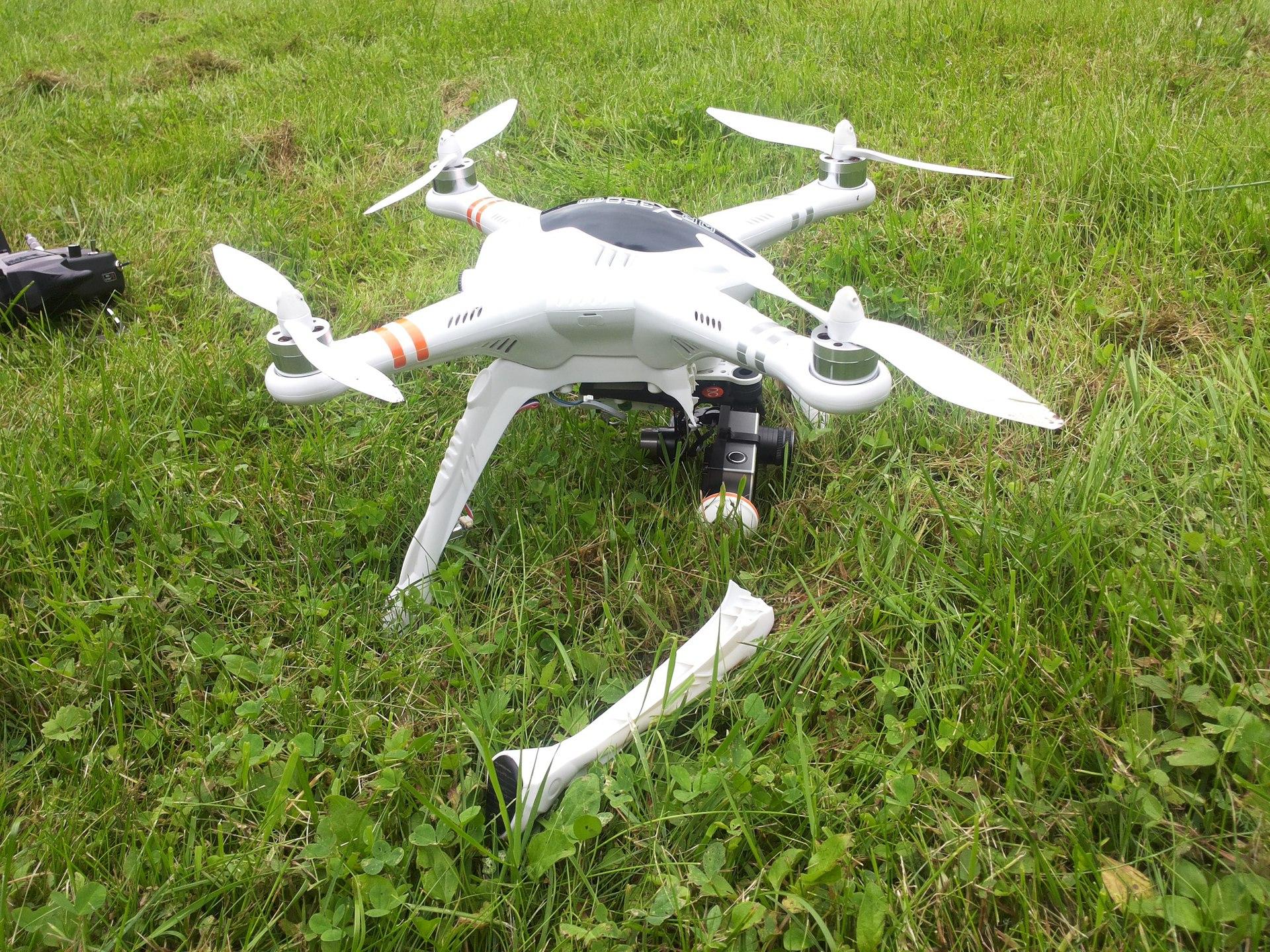 Действительно «Готовый к полёту» квадрокоптер – Walkera QR X350 PRO FPV - 3