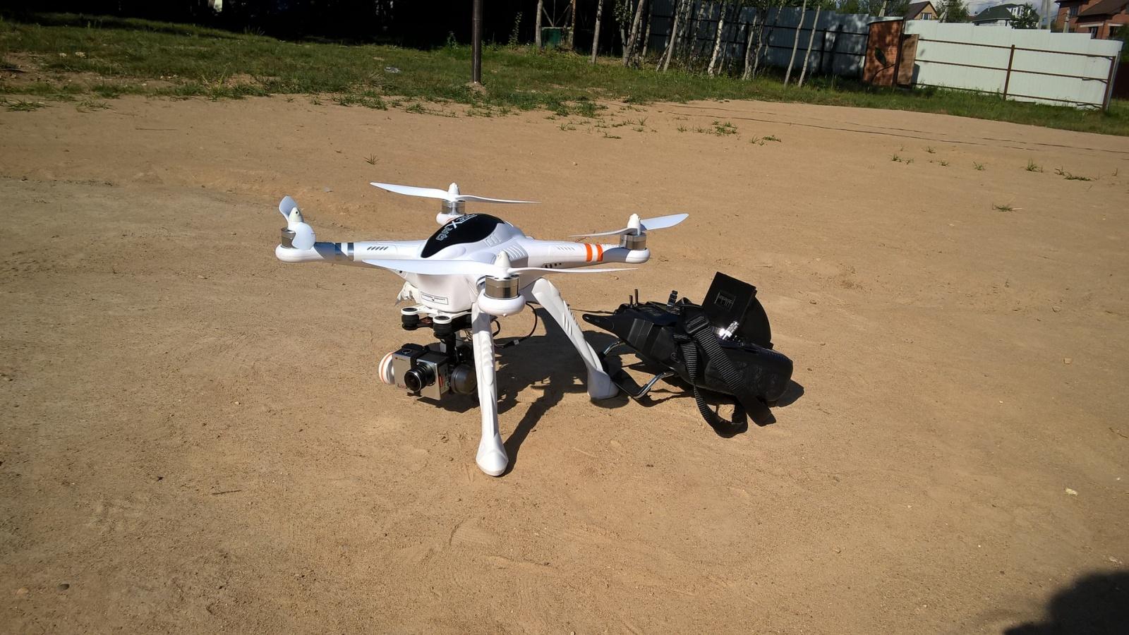 Действительно «Готовый к полёту» квадрокоптер – Walkera QR X350 PRO FPV - 1