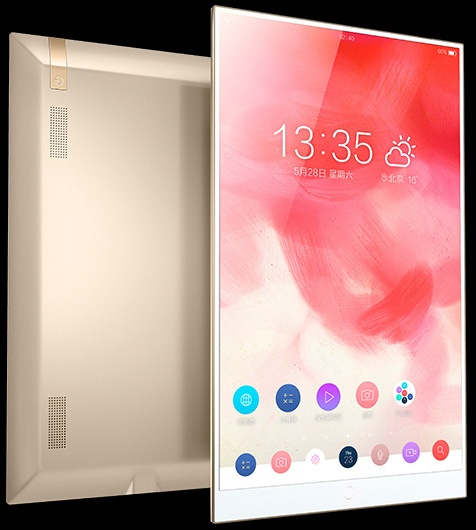 Экран занимает 90% площади фронтальной панели планшета Hisense Vidaa Mirror - 1
