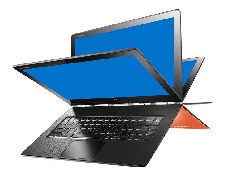 Ноутбук Lenovo Yoga 900 получит CPU Intel Core i5-6200U и Core i7-6500U