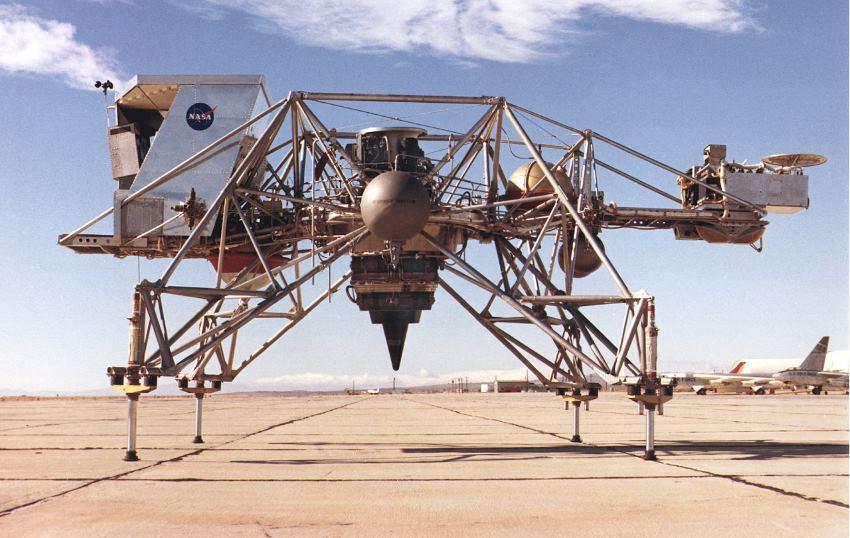 Видеоподборка краш-тестов на посадку аппаратов NASA - 1