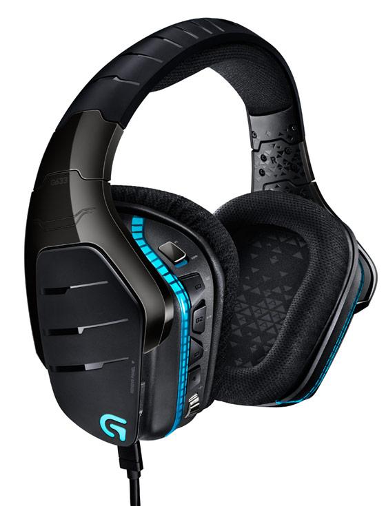 Игровые гарнитуры Logitech G633 Artemis Spectrum и Logitech G933 Artemis Spectrum поддерживают технологии объемного звука Dolby и DTS