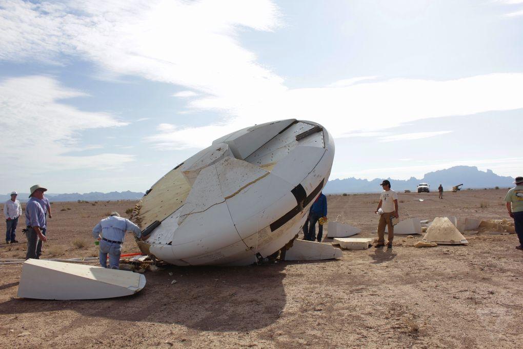 Космический корабль в пустыне: как прошло приземление капсулы Orion? - 10