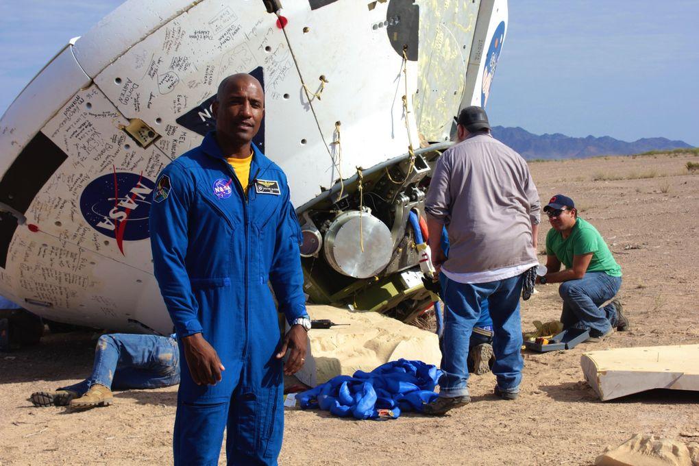 Космический корабль в пустыне: как прошло приземление капсулы Orion? - 14