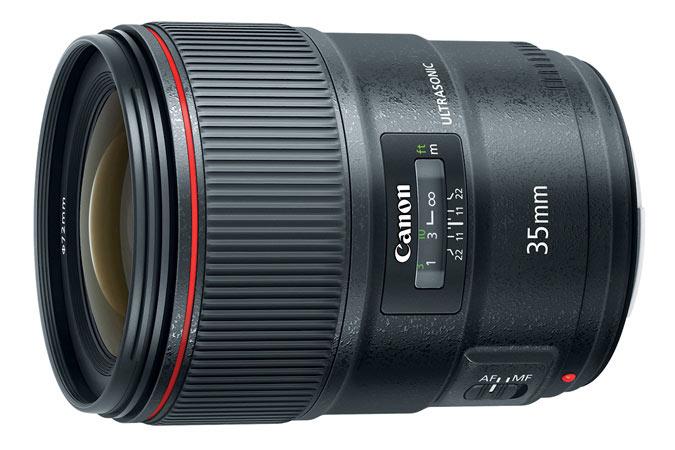 Использование элемента BR позволило скорректировать в объективе Canon EF 35mm F/1.4L II USM хроматические аберрации