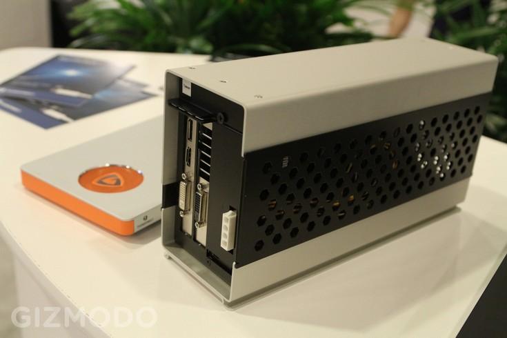 Intel и Inventec показали внешние графические решения для ноутбуков